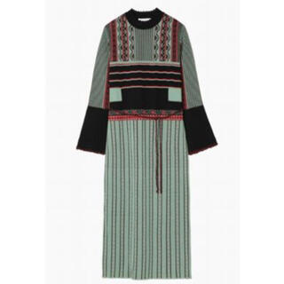 mame - mame kurogouchi 2018AW dress ニット ワンピース