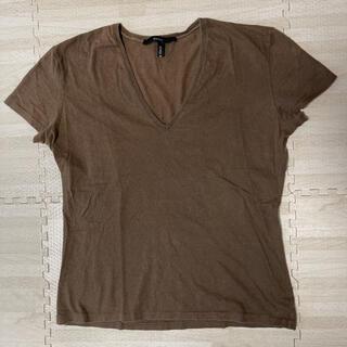 グッチ(Gucci)の人気品! GUCCI グッチ 半袖 Tシャツ カットソー ブラウン カーキ 茶(Tシャツ(半袖/袖なし))