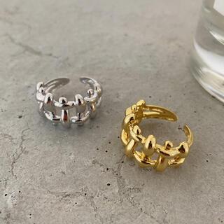 フリークスストア(FREAK'S STORE)のTweed gold ring No.602(リング(指輪))