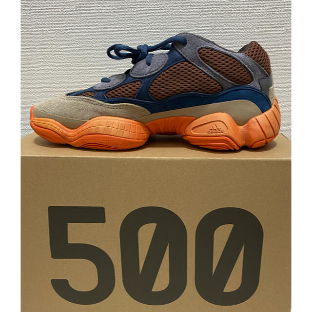 adidas(アディダス)の【未使用】adidas YEEZY 500 ENFLAME メンズの靴/シューズ(スニーカー)の商品写真