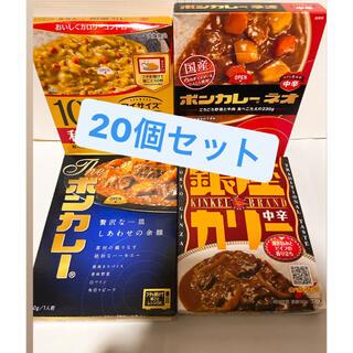 レトルトカレー詰め合わせ 20点(レトルト食品)