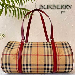 バーバリー(BURBERRY)の超美品 正規品 BURBERRY バーバリー 12万 レザーショルダーバッグ(トートバッグ)