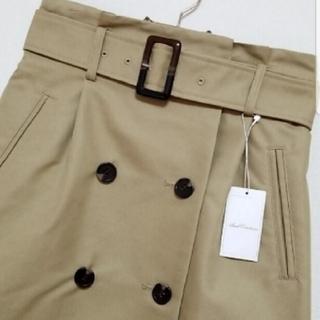 アンドクチュール(And Couture)のアンドクチュール トレンチスカート 未使用(ひざ丈スカート)
