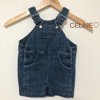 セリーヌ(celine)のCELINEキッズ♡ベビー♡デニム オーバーオール 半ズボン(パンツ)