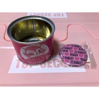 22market 猫缶 ミラー ノベルティ 非売品(アイドルグッズ)