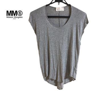 マルタンマルジェラ(Maison Martin Margiela)のmm6 マルタンマルジェラ チュニック カットソー  ノースリーブ tシャツ(チュニック)