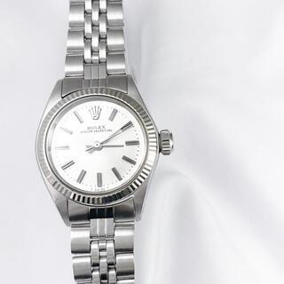 ロレックス(ROLEX)の【保証書付】ロレックス オイスター シルバー レディース 腕時計(腕時計)