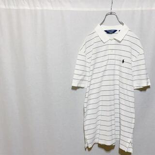 ポロゴルフ(Polo Golf)の【極美品】POLO GOLF ラルフローレン ワンポイントロゴ ポロシャツ(ウエア)