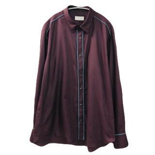 ジョンローレンスサリバン(JOHN LAWRENCE SULLIVAN)のLITTLEBIG 19SS Piping Shirts(シャツ)