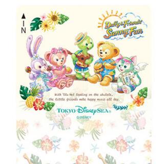 ディズニー(Disney)のディズニーリゾートライン フリーきっぷ ダッフィー&フレンズのサニーファン使用済(鉄道乗車券)