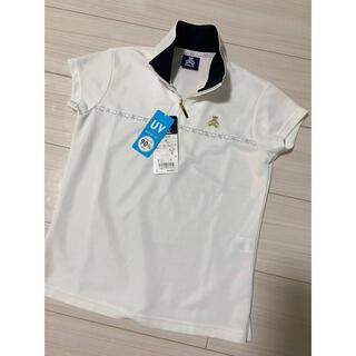 wilson - 可愛い☆くまのマークWilsonレディースゴルフポロシャツS〜Mサイズ 白
