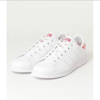 アディダス(adidas)の【美品】adidas アディダス スタンスミス ホワイト/ピンク(スニーカー)