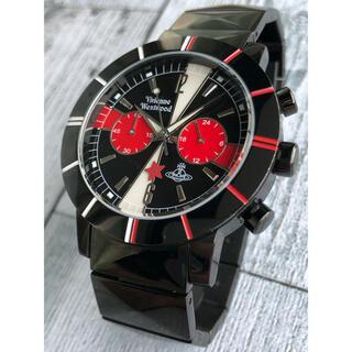 ヴィヴィアンウエストウッド(Vivienne Westwood)の【希少】Vivienne Westwood クロノグラフ メンズ 腕時計(腕時計(アナログ))
