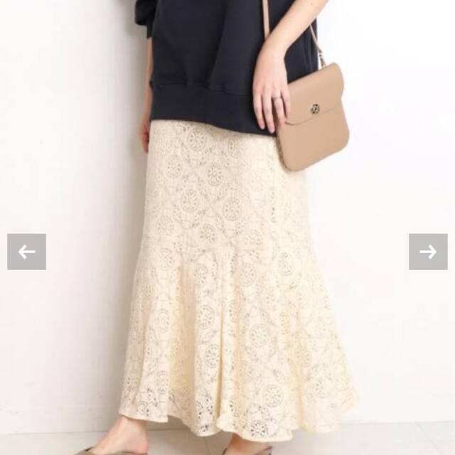 IENA SLOBE(イエナスローブ)のSLOBE IENA レースマーメイドスカート説明文よりサイズご確認ください レディースのスカート(ロングスカート)の商品写真