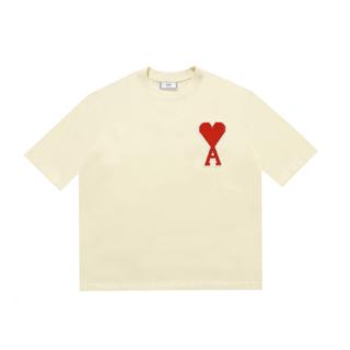 ACNE - AMI半袖Tシャツ Sサイズ クリーム