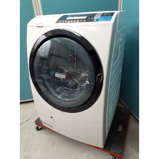 日立 - 日立ドラム式洗濯乾燥機 10kg ビッグドラムスリム BD-S8600L