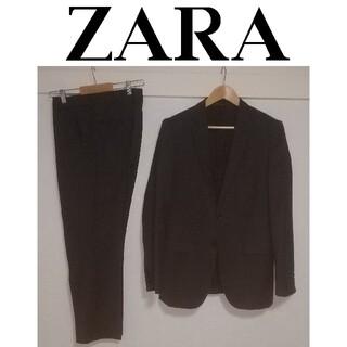 ZARA - ZARA ザラ セットアップスーツ ダークグレー サイズ48 ウール