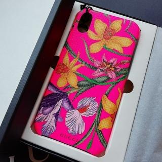 グッチ(Gucci)の正規店購入 グッチ iPhoneケース X/XS  新品、箱ショッパー付き(iPhoneケース)