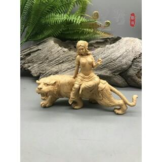 彫刻工芸品 美女女神  裸婦像  木工細工  置物  コレクション美術工芸品 (彫刻/オブジェ)
