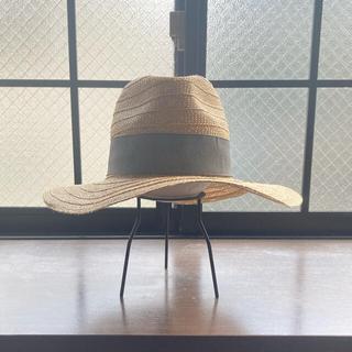 ザラ(ZARA)のZARA 麦わら帽子 ハット Sサイズ(麦わら帽子/ストローハット)