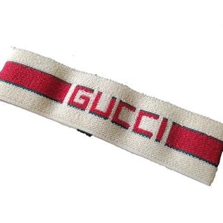 gucci ヘアバンド ストライプ(ヘアバンド)