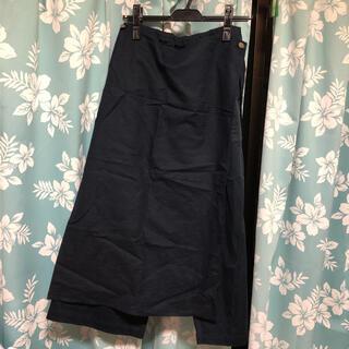 フォーティーファイブアールピーエム(45rpm)のパラスパレス 巻きスカート付きパンツ(カジュアルパンツ)