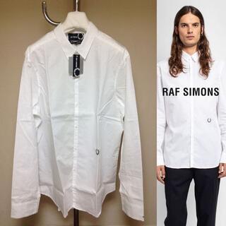 ラフシモンズ(RAF SIMONS)の新品 M raf simons 20aw ロゴ入り コラボ シャツ 589(シャツ)