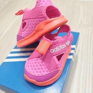 adidas - 【アディダス】adidas ベビーサンダル ピンク 12cm