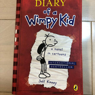 """洋書 """"DIARY of a Wimpy Kid"""" used  (洋書)"""
