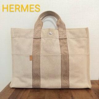 Hermes - 美品⚪️HERMES フールトゥMM トートバッグ