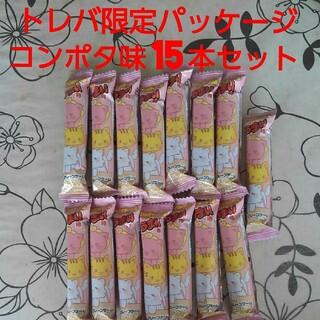 トレバ限定デザインうまい棒 コンポタ味 コーンポタージュ味 リスカ やおきん(菓子/デザート)