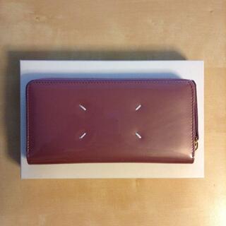 マルタンマルジェラ(Maison Martin Margiela)の新品 マルジェラ 19aw ラウンドジップ 長財布 ピンク 9966(財布)
