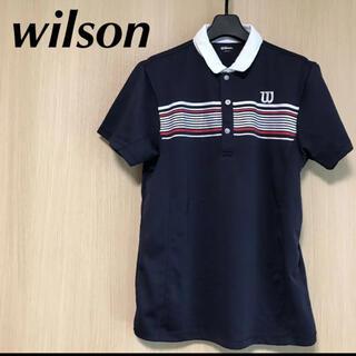 ウィルソン(wilson)のwilson ウィルソン メンズ M ポロシャツ 半袖 Tシャツ トップス(ウエア)