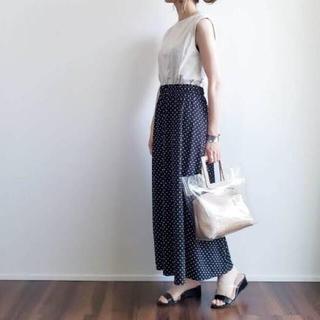 UNIQLO - UNIQLO Joy of Printクレープジャージースカート