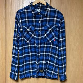 ダブルタップス(W)taps)のWTAPS SHIRT COLLECTION TEXTILE チェックシャツ(シャツ)