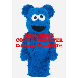 メディコムトイ(MEDICOM TOY)の【新品】ベアブリック Cookie Monster Costume 1000%(その他)