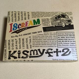 キスマイフットツー(Kis-My-Ft2)のCONCERT TOUR I SCREAM  アイスクリーム初回生産限定盤4枚組(ミュージック)