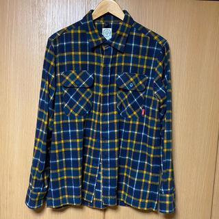 ダブルタップス(W)taps)のWTAPS VATOS SHIRT チェックシャツ(シャツ)