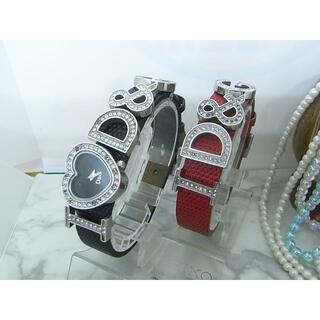 ドルチェアンドガッバーナ(DOLCE&GABBANA)のドルチェ&ガッバーナ D&G ラインストーン レディース ウォッチ(腕時計)