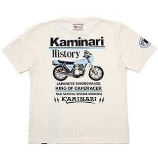 テッドマン(TEDMAN)のカミナリモータース/Z1R/Tシャツ/ホワイト/KMT-158/テッドマン(Tシャツ/カットソー(半袖/袖なし))