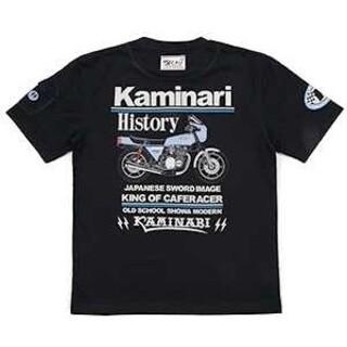 テッドマン(TEDMAN)のカミナリモータース/Z1R/Tシャツ/ブラック/KMT-158/テッドマン(Tシャツ/カットソー(半袖/袖なし))