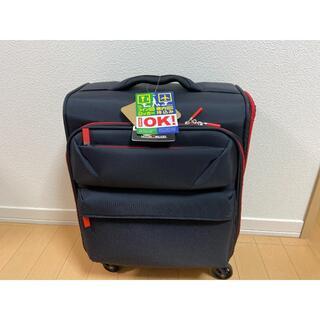 未使用品 キャリーケース スーツケース ソフト 軽量 22リットル(旅行用品)