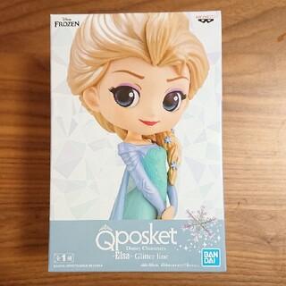 ディズニー(Disney)のアナと雪の女王 エルサ qposket フィギュア Glitter line(アニメ/ゲーム)