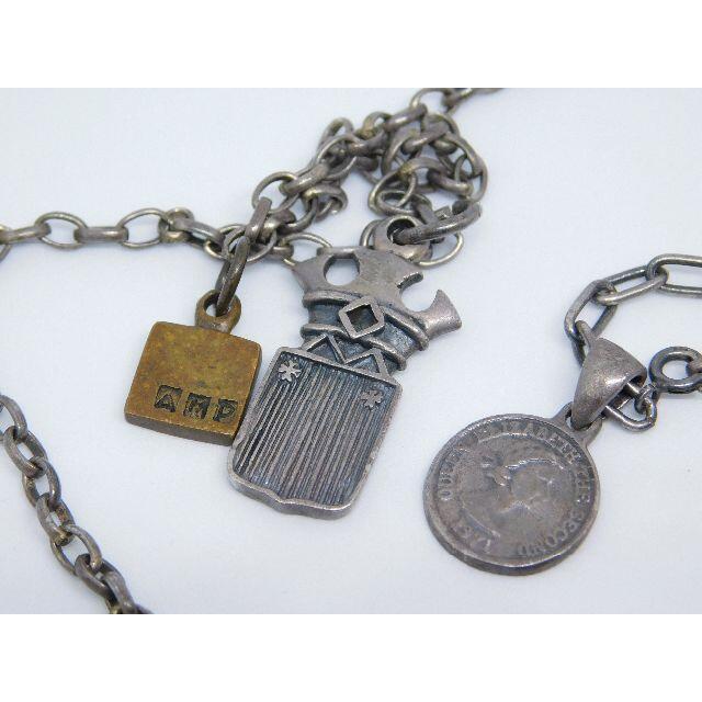 amp japan(アンプジャパン)のAMP JAPAN アンプジャパン ロング ネックレス クロス アンク コイン メンズのアクセサリー(ネックレス)の商品写真