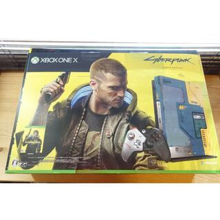 Xbox One X 本体 サイバーパンク2077 リミテッド エディション