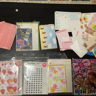 ディズニー(Disney)の大量レターセット 封筒 シール 便箋 (カード/レター/ラッピング)