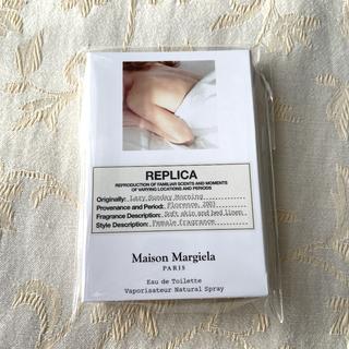 マルタンマルジェラ(Maison Martin Margiela)のREPLICA レプリカ レイジーサンデーモーニング 1.2ml 香水 サンプル(香水(女性用))