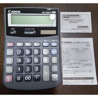 Canon - キヤノン Canon HS-1200TL [卓上電卓 12桁] 新品