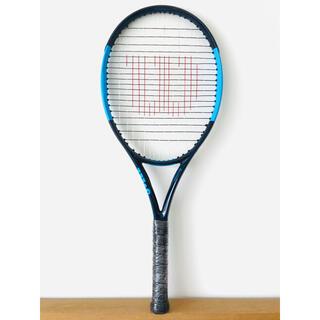 ウィルソン『ウルトラ ULTRA 100 CV』テニスラケット/ブルー&ネイビー