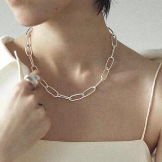 トゥデイフル(TODAYFUL)の1点限定 / Silver925_ Oval chain necklace (ネックレス)